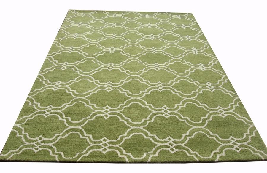 Sale Brand New Pottery Barn Scroll Tile Green Handmade
