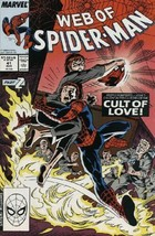 The Web of Spider-Man #41 NM 1988 Marvel Comic Book - $1.89