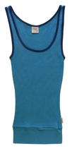 Hollister Size S Girls Blue Ribbed Tank Top - $5.99