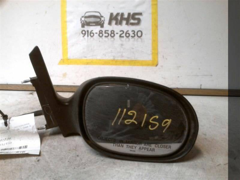 Primary image for Passenger Side View Mirror Power Fixed Satin Fits 98-04 CONCORDE 304035