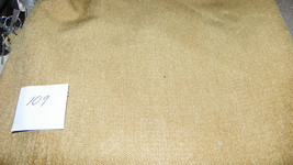 Gold Chenille Upholstery Fabric  1 Yard  R109 - $19.95