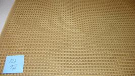 Gold Nylon Print Tweed Upholstery Fabric  1 Yard  R123 - $19.95