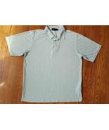 BUGATCHI UOMO Men's Golf Rugby Polo Shirt Short Sleeve Size Large Lime G... - $5.93
