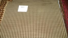 Gold Stripe Nylon Upholstery Fabric 1 Yard   F813 - $19.95