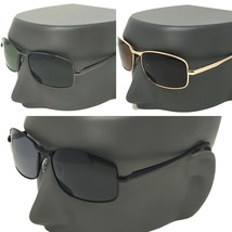 XXL Mens extra large Classic Polarized Sunglasses for big wide heads 150mm - $24.20+