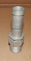 """Punch-Lok Hose Fittings Hex Steel Lok-Nipple Double Groove 1"""" x 1"""" HX-88... - $9.49"""