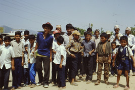 35mm Slide TUP Nepal Local Small Village Life People (#37) - $4.75