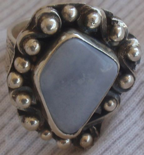 Light lace hand made ring MT16