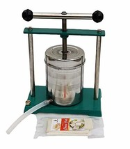 Heavy Duty Stainless Steel Tincture Press with Cheese Cloth and Silicon ... - $193.05