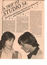 Kristy Mcnichol teen magazine pinup clipping a trip to studio 54 Tiger Beat Bop