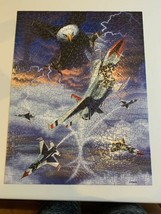 MasterPieces Jigsaw Puzzle USAF Thunderbirds High Bomb Blast 550 Pieces Pcs - $17.72
