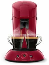 Philips Coffee Maker Senseo New Original Choice Of Cream Plus Thickness -red - $225.47