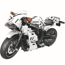 Technic City Sports Street Motorcycle Moto Car Building Blocks Sets Bric... - $88.51