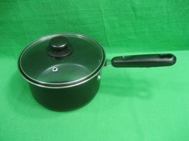 Vintage One (2) Quart Sauce Pan with Glass Lid Non-Stick - $13.06