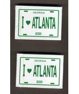 1993 I Love Atlanta Standard Playing Poker Game Cards New - $5.00