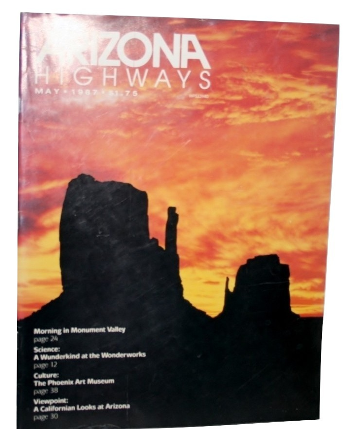 Arizona Highways May 1987 Mornings Monument Valley