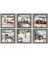 Heading Home Panel-Sepia-Elizabeth Studios-Barns-Covered Bridges-Snow-Horse - $11.95