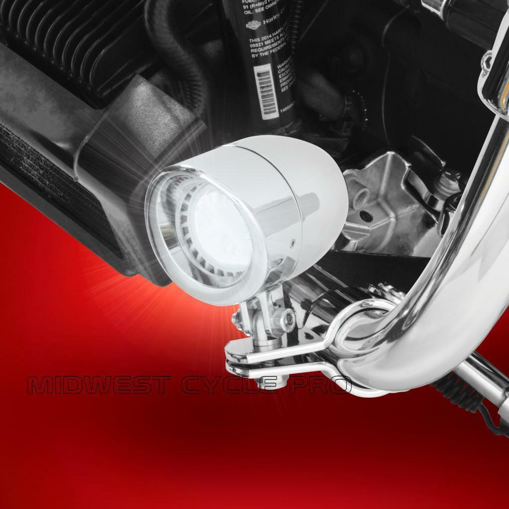 NEW Show Chrome 2-346A Six-Light Saddlebag Side Light Set