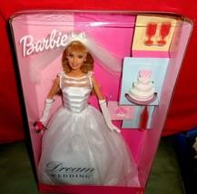1991 Mattel Dream Bride Barbie Wedding Romance in Satin And Lace w/Acces... - $30.00