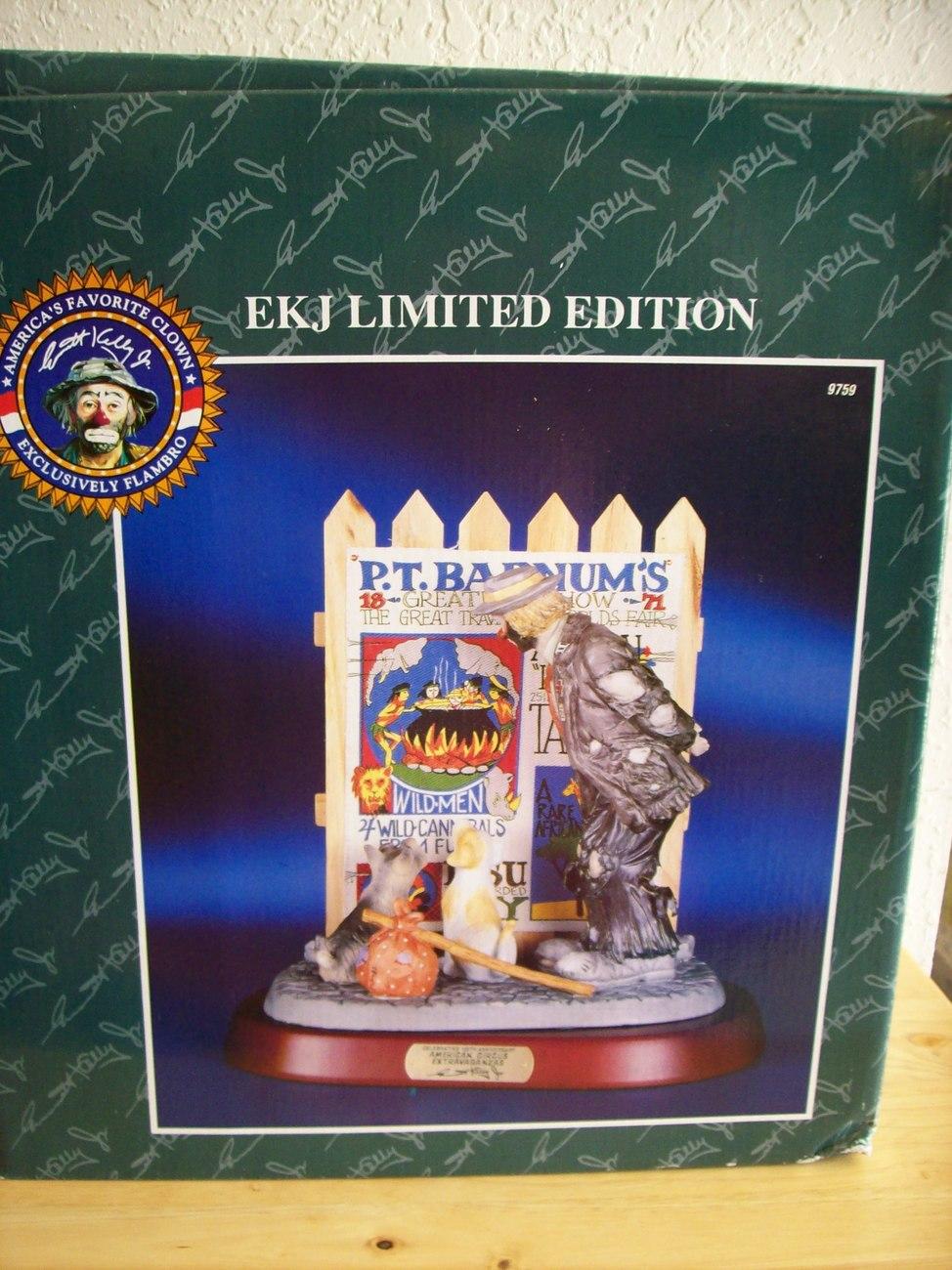"Emmett Kelly JR. ""American Circus Extravaganza"" Figurine"