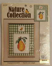 """Leisure Arts """"Golden Pear"""" #11550 Nature Collection Counted Cross Stitch Kit NEW - $14.35"""