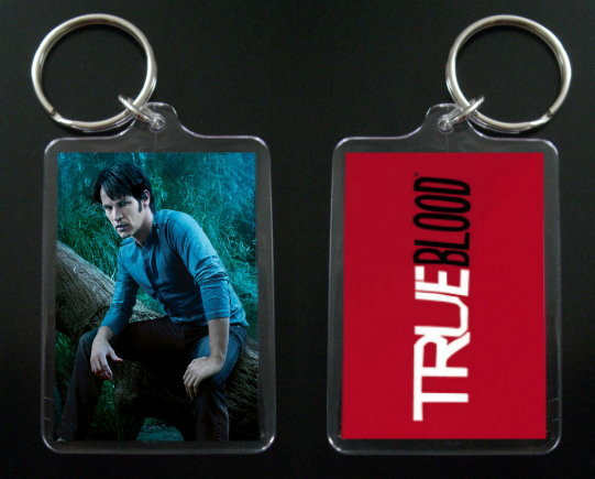 TRUE BLOOD keychain BILL COMPTON Stephen Moyer #6