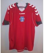 Hummel Red Color Mens Jersey Official Product Impact Soccer League SZ Me... - $17.81