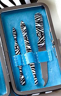 Blue Zebra Manicure Gift Sets