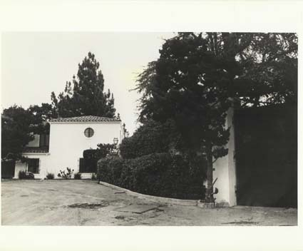 FALCON LAIR, HOME OF RUDOLPH VALENTINO 8x10 Photo