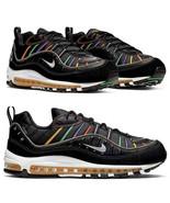 $170 NIB NEW Men's Nike Air Max 98 PRM Premium Shoes Sneakers BV0989 023... - $129.97