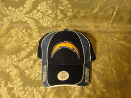 San Diego Chargers multi blue vlcro strap one size cap/ hat Very nice lo... - $19.00