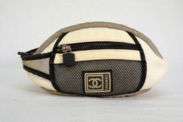 CHANEL CC Logo Sports Line fanny pack Pouch Bag Vintage Y11 - $295.02