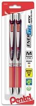 Pentel EnerGel RTX Retractable Liquid Gel Pen, Medium Line, Metal Tip, O... - €12,54 EUR