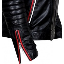 Ryan Gosling Blue Valentine Dean Bomber Motorcycle Leather Jacket Valentine Gift image 2