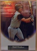 2004 Bowman Sterling Rifrattori #NW Neil Walker / 199 Fy - $15.85