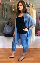 Hard Tail high waist blue wash Capri rh83 - $74.00