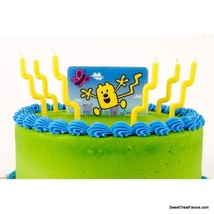 WOW WOW WUBBZY Party CAKE Topper Decoration CANDLES kit Birthday Favors ... - $8.86