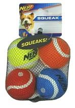 NERF Dog 2 in Squeak Tennis Ball Dog Toys Set of 4 - $8.99