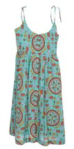 J Crew Women's Drake's Tie Shoulder Dress in Tiled Elephant Print Sz 14 ... - $91.99