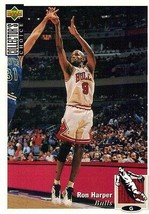 1994-1995 Upper Deck Collector's Choice Card Ron Harper #319 Chicago Bulls - $1.97