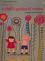 "A BIG GOLDEN BOOK ""SELECTIONS FROM A CHILD'S GARDEN OF VERSES"" BY ROBERT... - $21.39"