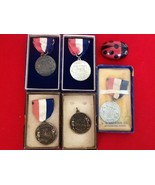 Vtg Florida Junior Olympics Championship AAU Swimming Medals 1957-1958 L... - $40.00