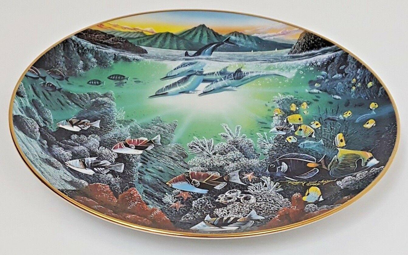 Honolua Bay Of Piilani Underwater Paradise Danbury Mint Plate Robert Lyn Nelson image 2