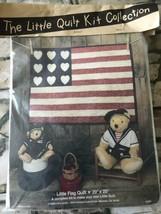"Vintage The Little Quilt Kit Collection ""Little Flag Quilt ""1986 - $9.90"