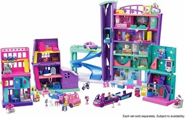 Polly Pocket Mall Of Toy For Dolls, Multi (Mattel GFP89 - $307.66