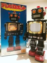 METAL HOUSE Metal Television Robot Toy Made in Japan Hobby Showa Period ... - $544.50