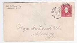 WOLF, HABEIN & CO FAIRMONT, MINN JUNE 8 1904 - $1.98