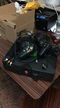 Microsoft Xbox w/ 2 controllers - $18.70