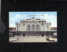 UNION STATION DENVER COLORADO ELMER C. CLARK E.C. KROPP VINTAGE POSTCARD - $7.43
