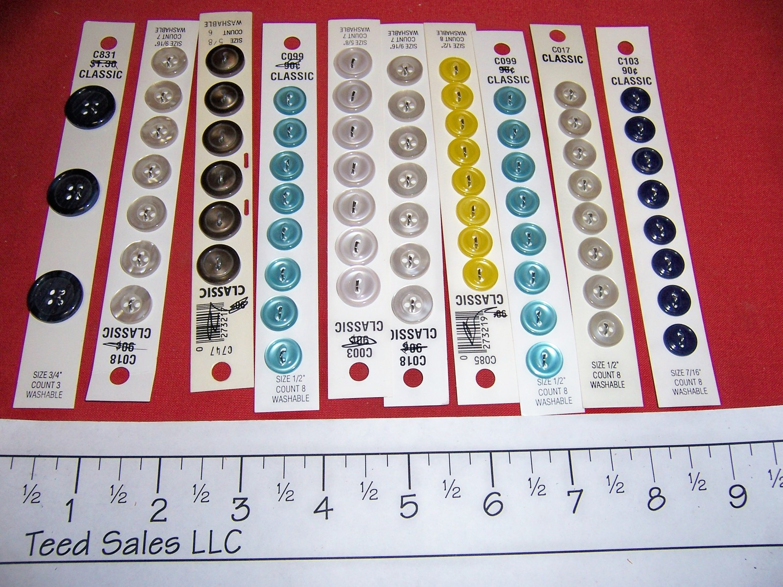 New Blumenthal Lansing Sewing Buttons Classic I & II